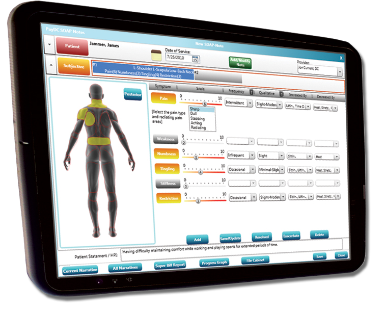 PayDC Screenshot - Best Chiropractic Software