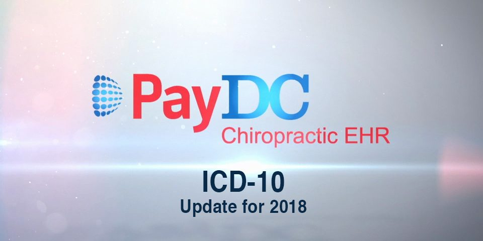 PayDC-ICD-10 Update For 2018