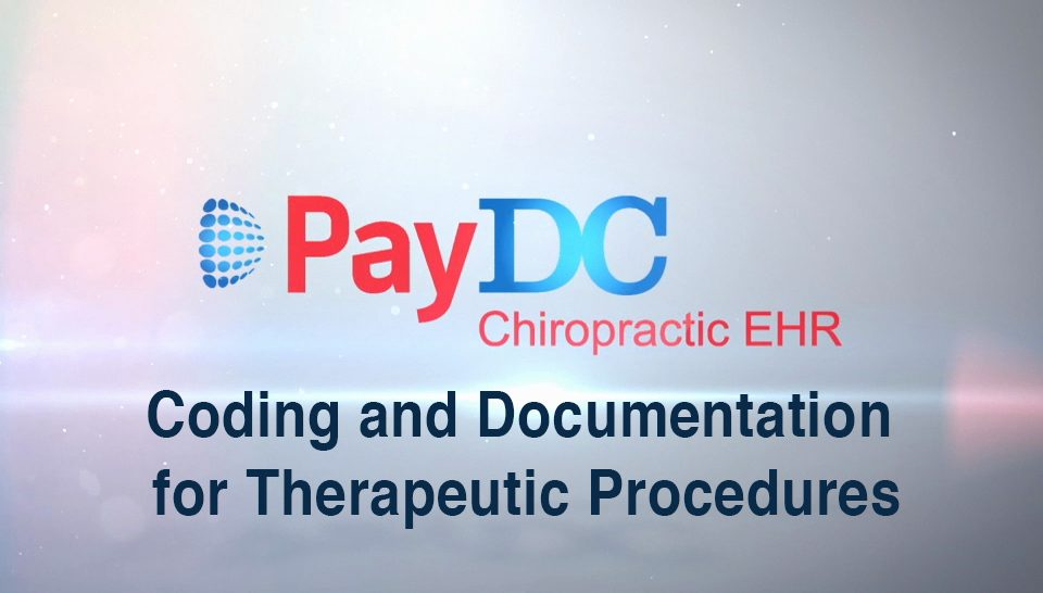 PayDC-ICD Coding and Documentation for Therapeutic Procedures David Klein Webinars