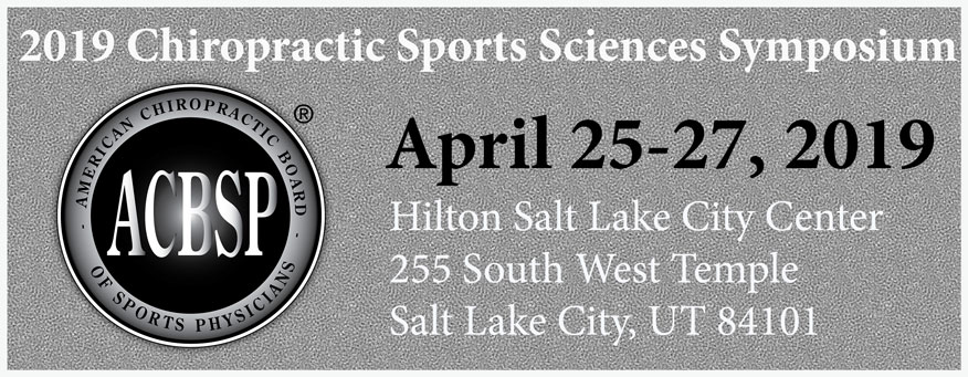Chiropractic Sports Sciences Symposium April 2019 PayDC Chiropractor Software, Chiropractic EHR
