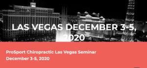 Event ProSports Chiropractic Las Vegas Dec3-5 PayDC EHR Chiropractic Software